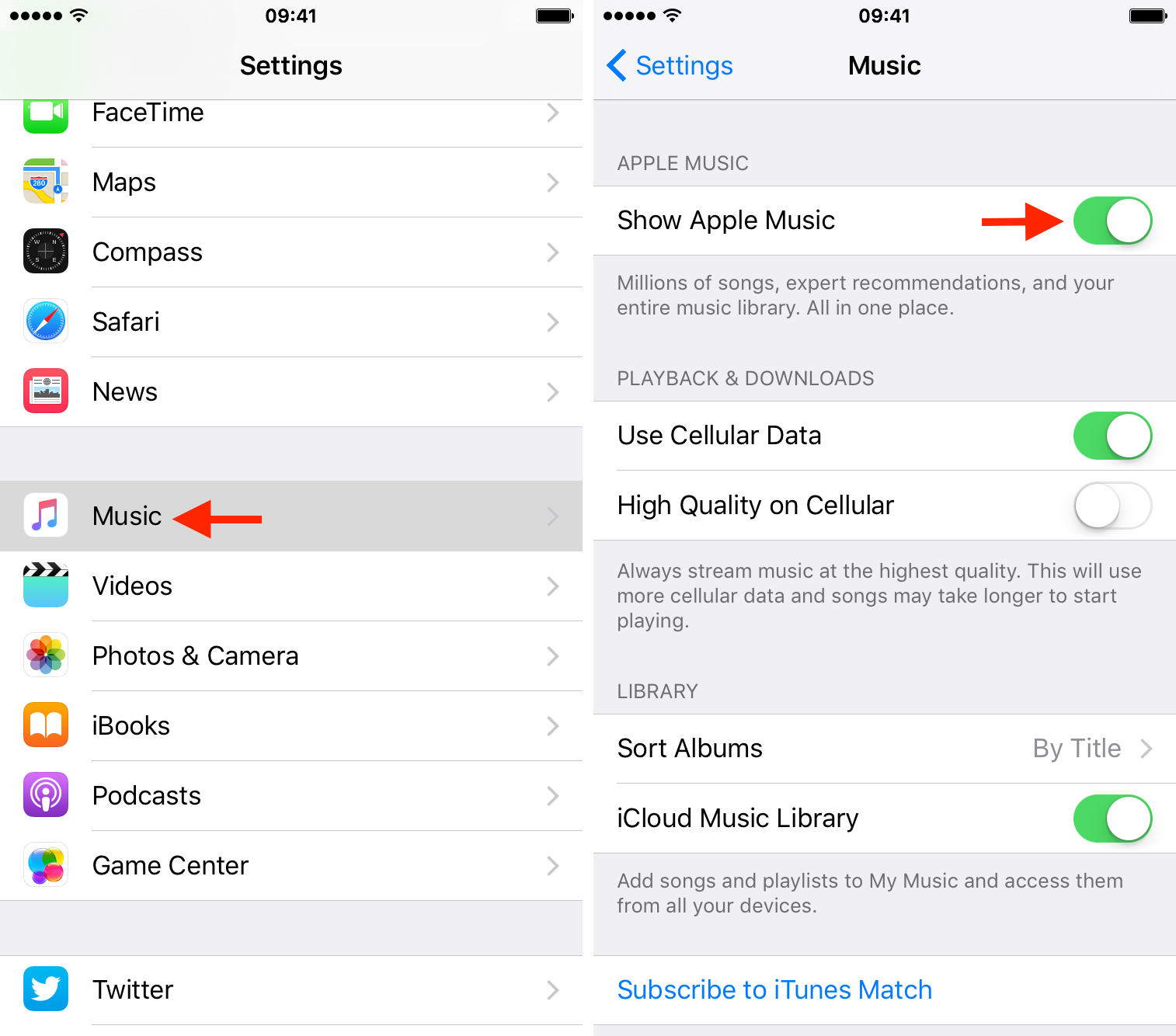 hide apple music on iPhone