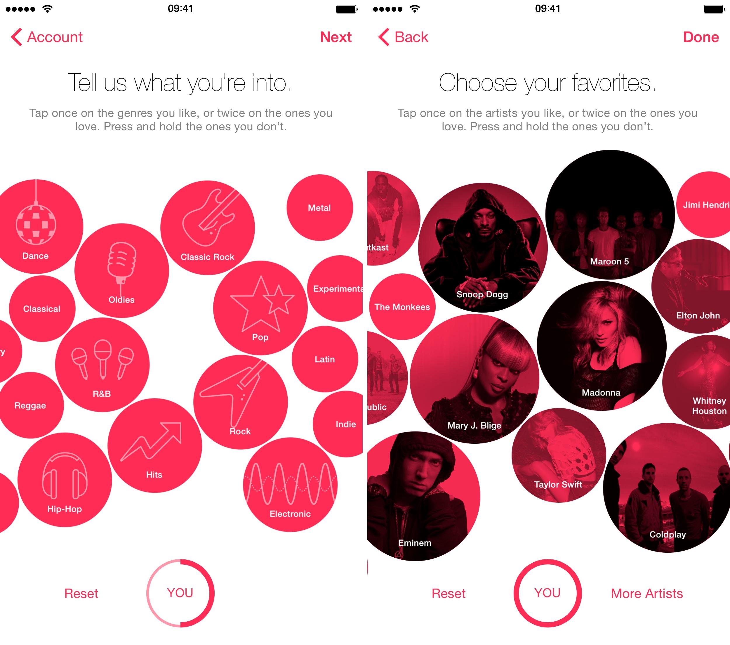 iOS 8.4 Música cómo hacer para ti recomendaciones iPhone captura de pantalla 002
