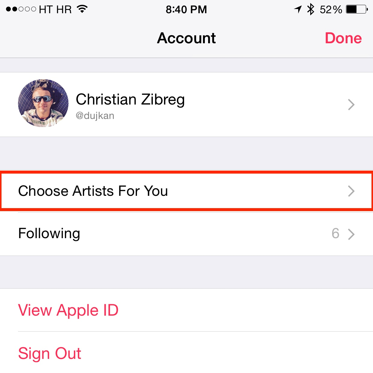 iOS 8.4 Music how to For You recommendations iPhone screenshot 004