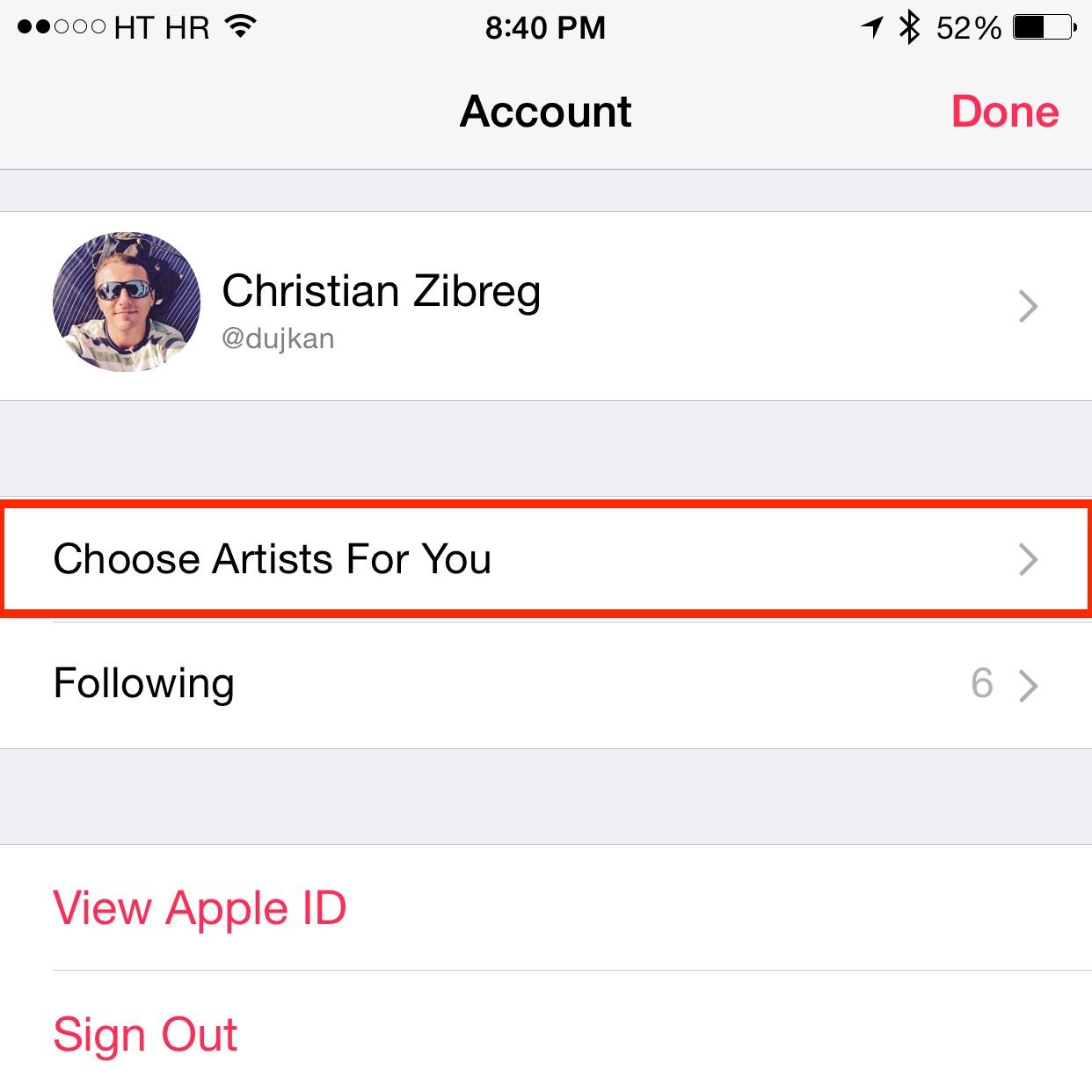iOS 8.4 Música cómo hacer para ti recomendaciones iPhone captura de pantalla 004