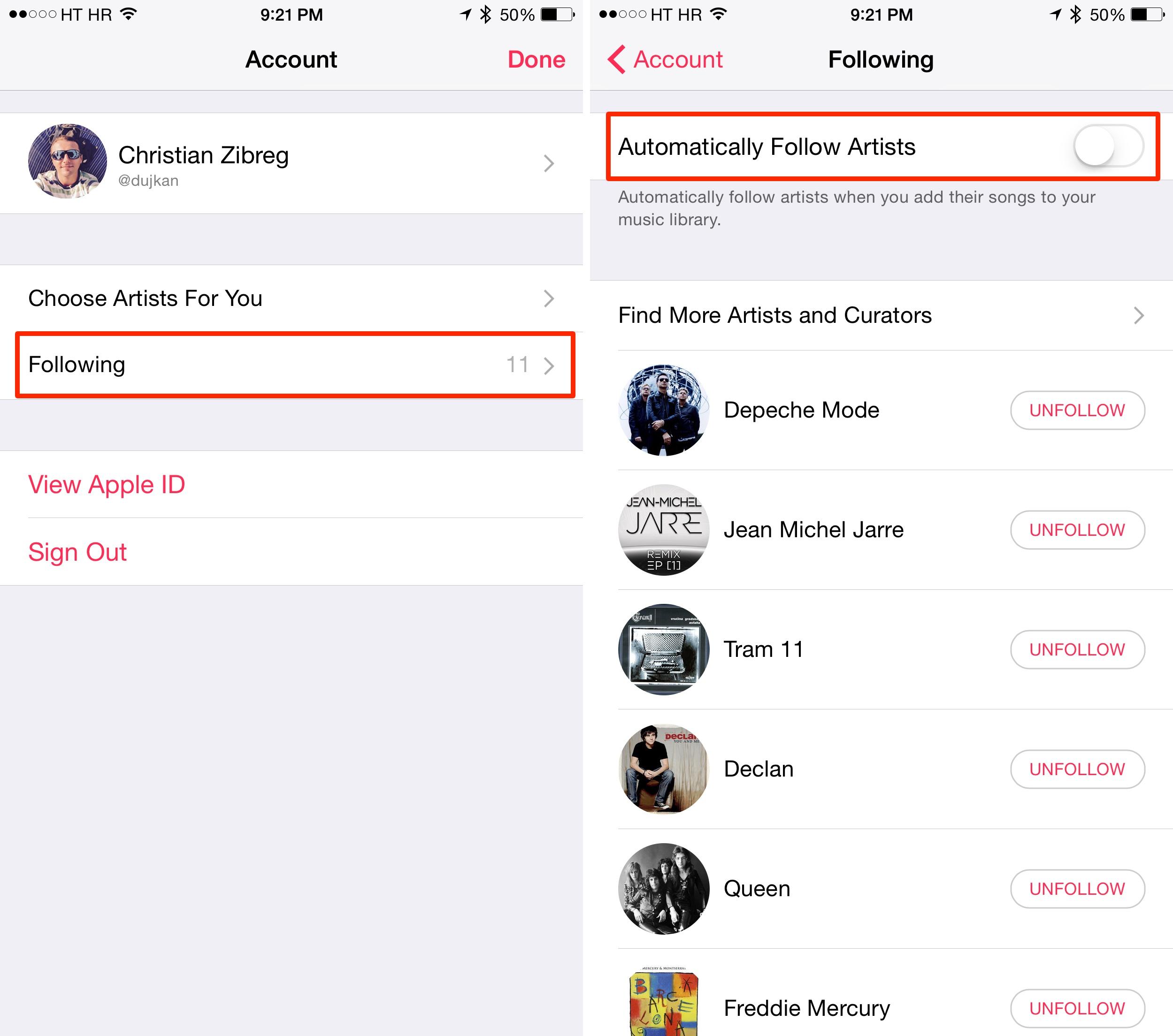iOS 8.4 Música cómo hacer para ti recomendaciones iPhone captura de pantalla 005