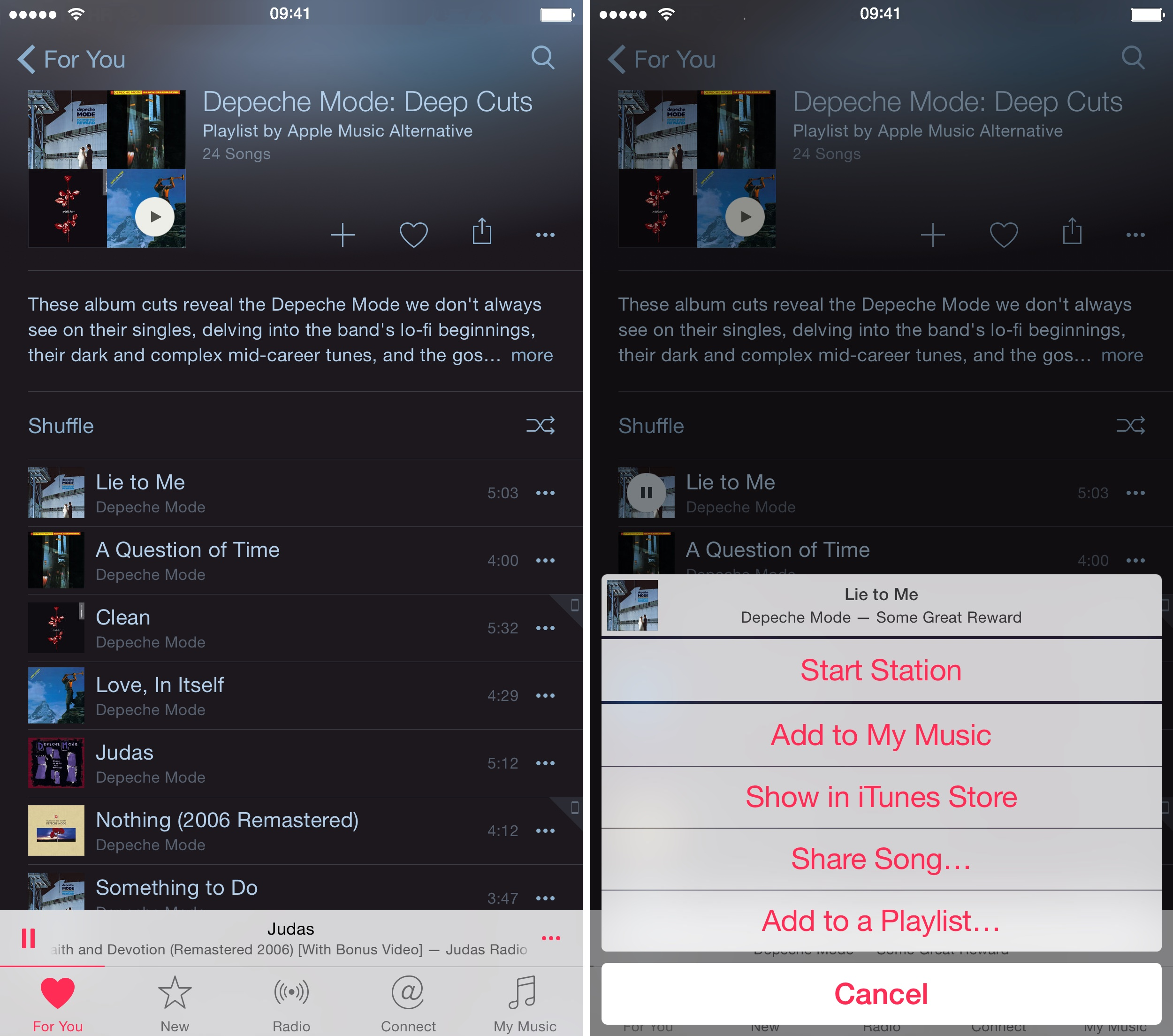 iOS 8.4 Music how to For You recommendations iPhone screenshot 007