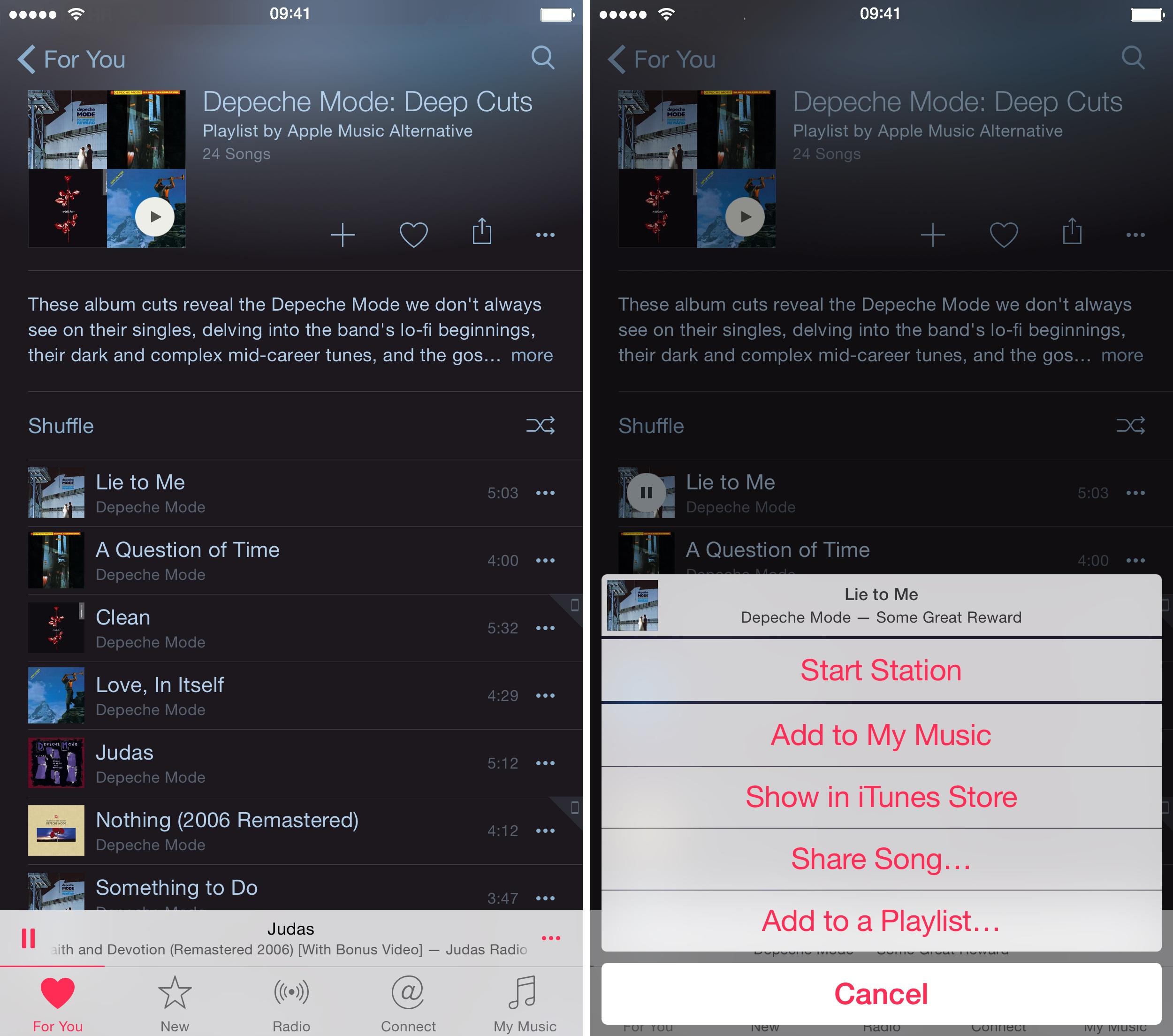 iOS 8.4 Música Cómo hacer para ti recomendaciones iPhone captura de pantalla 007