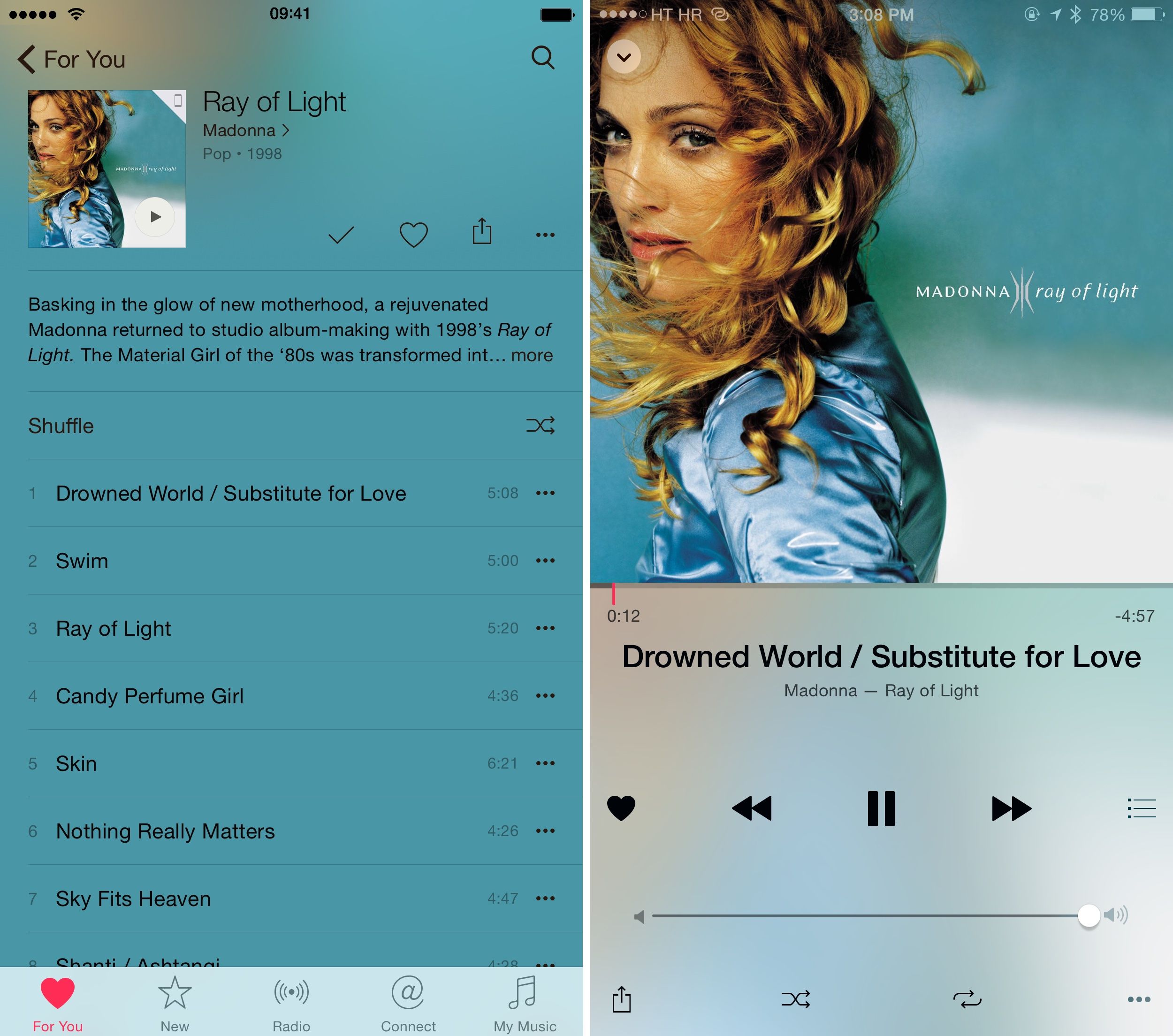 iOS 8.4 Music how to For You recommendations iPhone screenshot 010