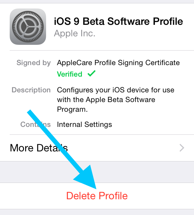 how to update the ios 9 public beta to ios 9 beta 4