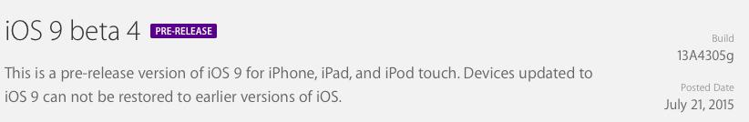 iOS 9 beta 4 update prompt 002