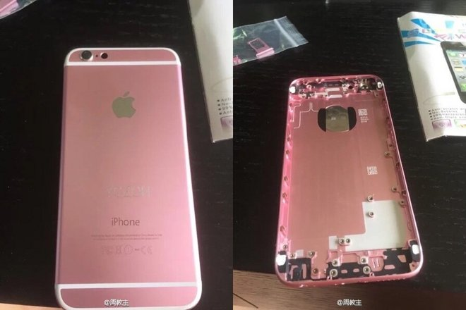 iPhone 6 rose gold paint job