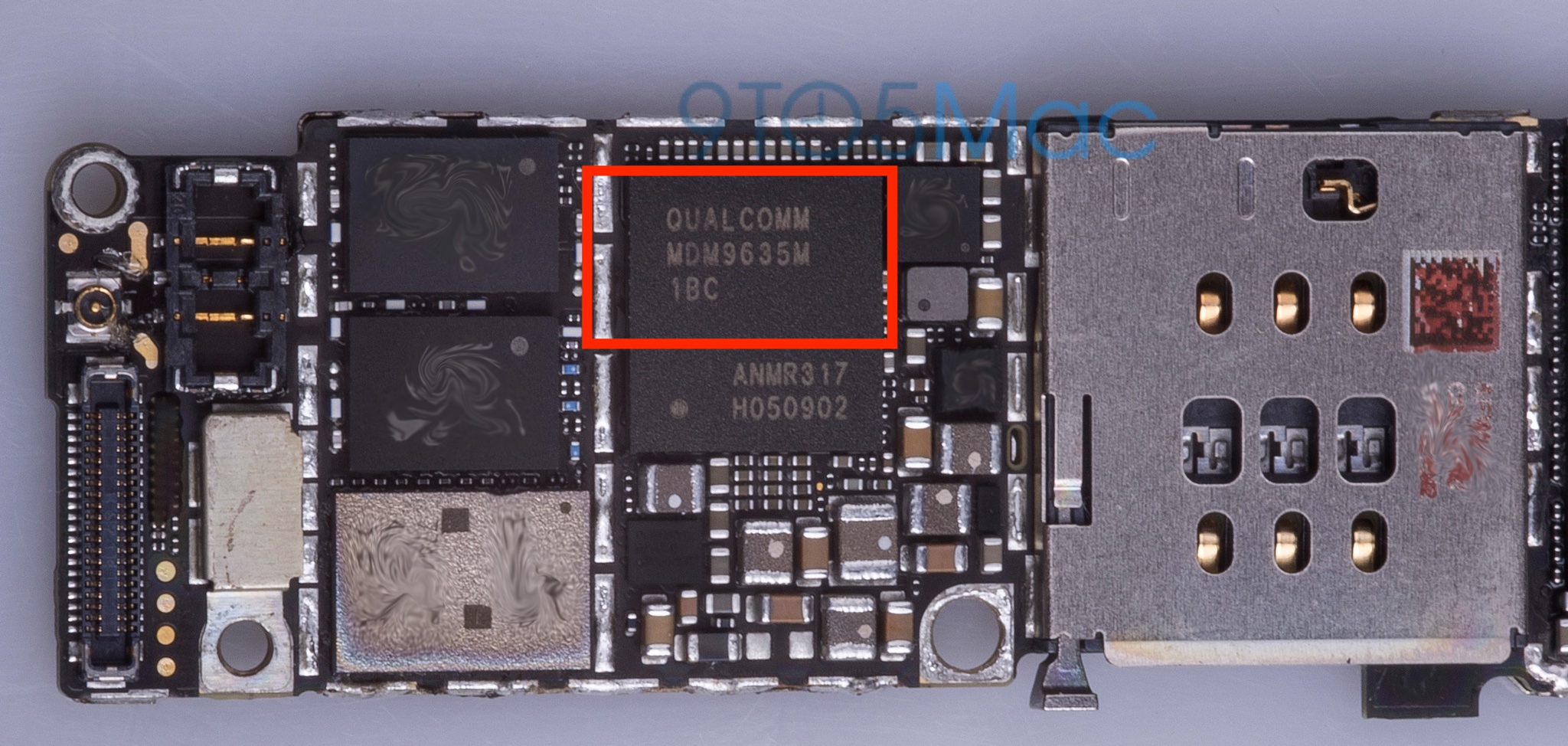 iPhone 6s Qualcomm MDM9625M leak 001