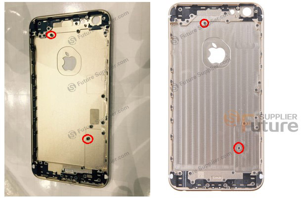 iPhone 6s rear housing Future Supplier 004