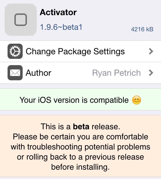 Activator 1.9.6 beta 1