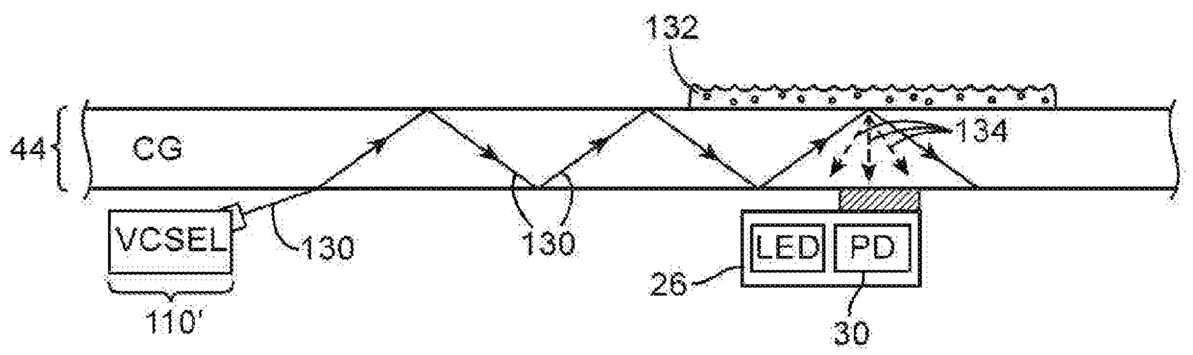 Apple patent smudge detection proximity sensor drawing 002