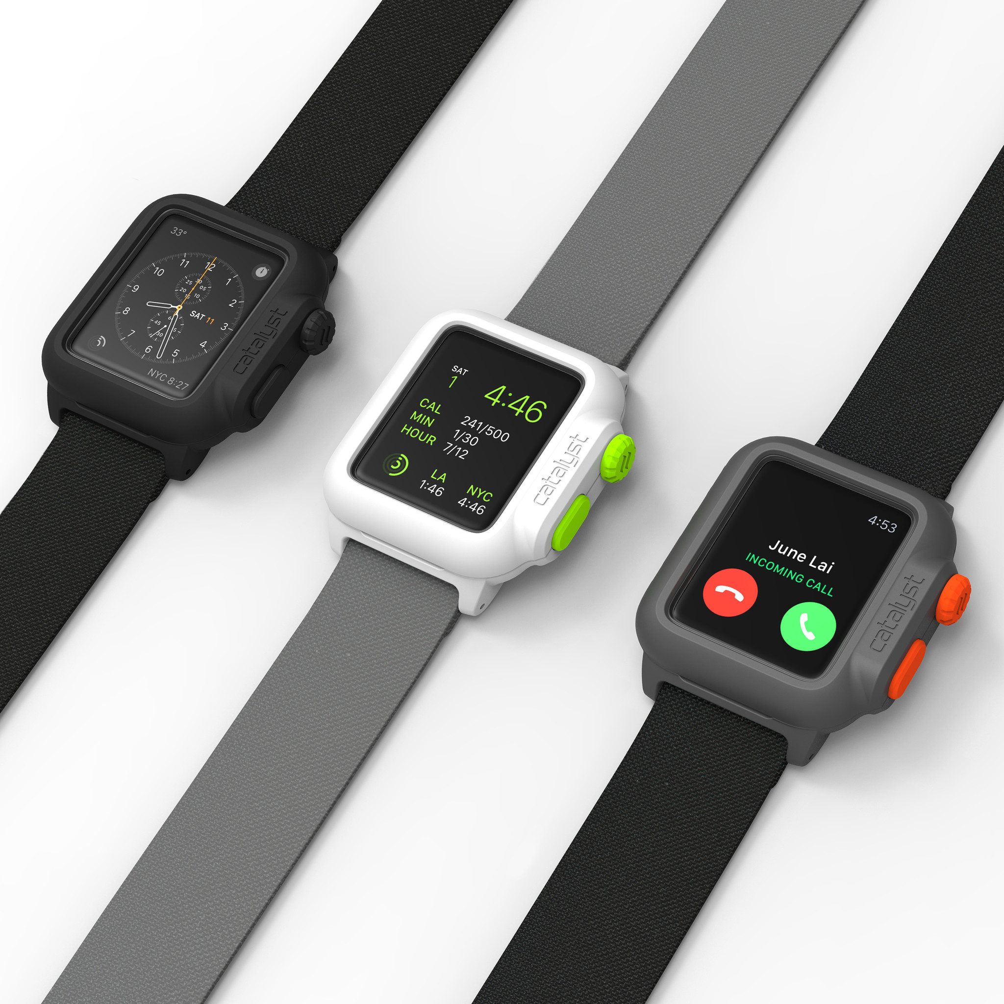 quality design 246bd ac79f Catalyst unveils the world's first waterproof Apple Watch case