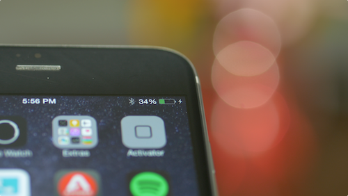 ChargePulse: make your iPhone's battery icon pulse when charging