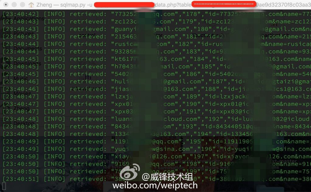 Chinese iCloud Hacked accounts