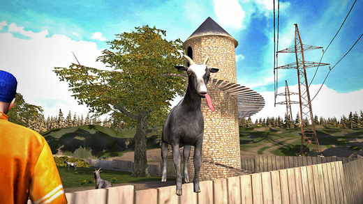 Goat simulator 1.2 for iOS iPhone screenshot 001
