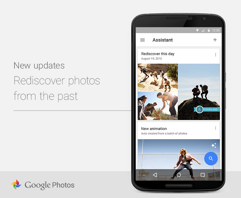 Google Photos 1.2 for iOS rediscover photos from the past