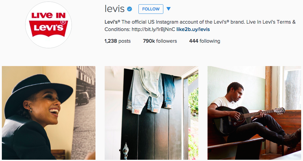 Instagram ads Levis 002