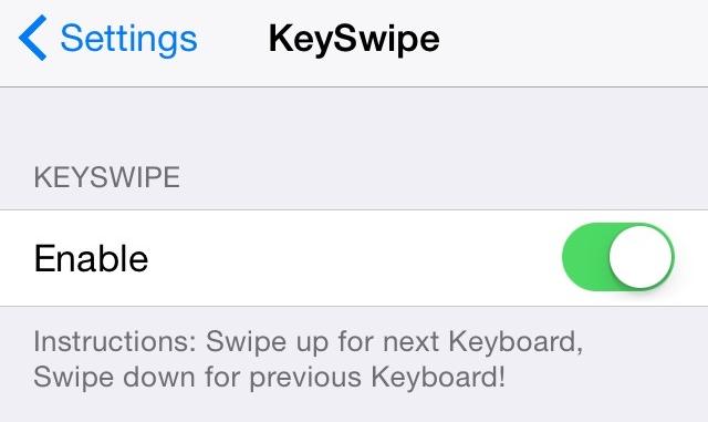 KeySwipe