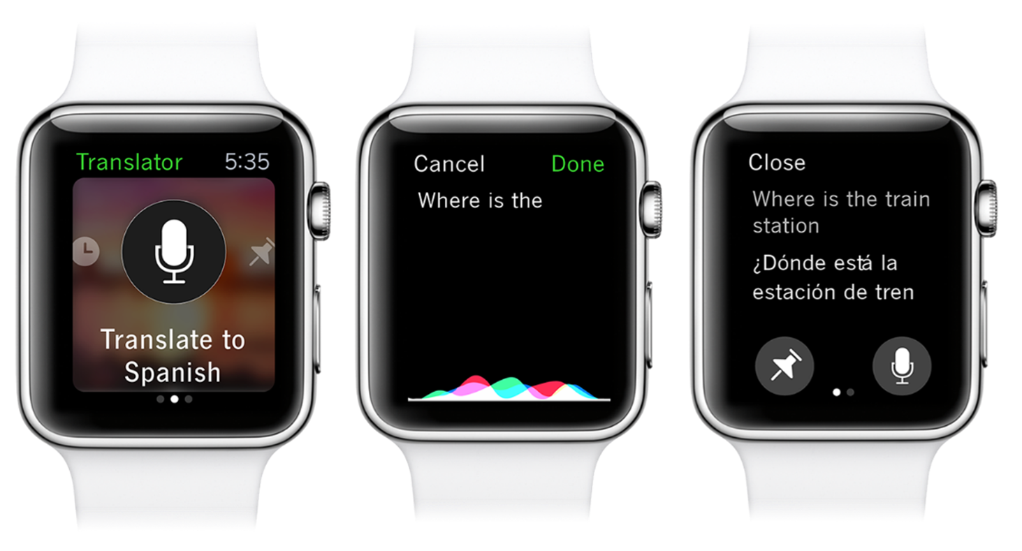Microsoft Translator 1.0 for iOS Apple Watch screenshot 002
