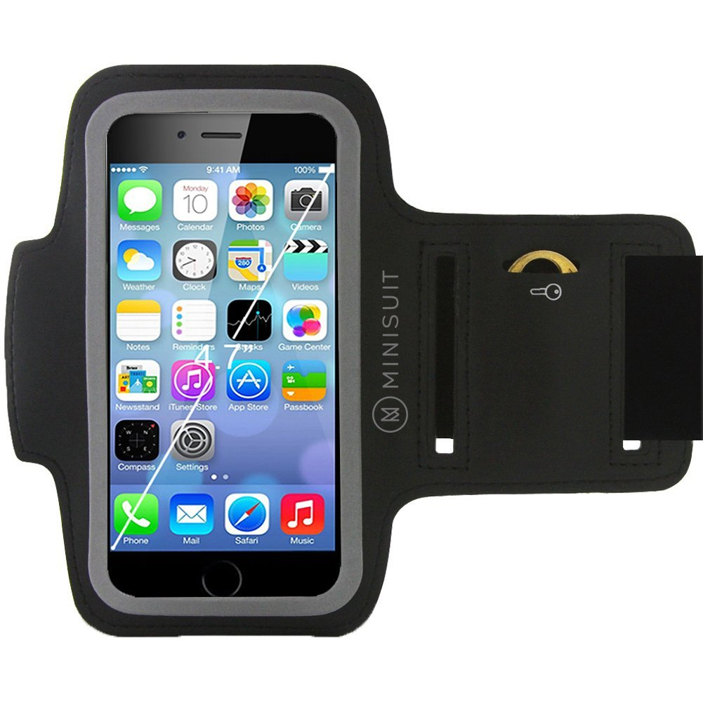 detailed look 074ce 4a9d7 The MiniSuit SPORTY armband lets you carry your iPhone 6 and your ...