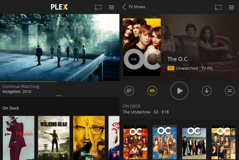 Plex 4.0 for iOS iPhone screenshot 001