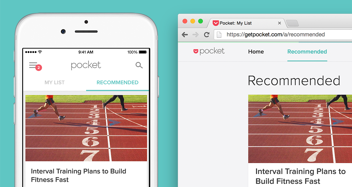 Pocket 6.0 for iOS Recommendations image 002