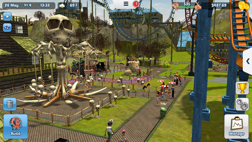 RollerCoaster Tycoon 3 for iOS iPhone screenshot 001