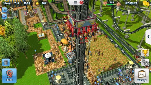 RollerCoaster Tycoon 3 for iOS iPhone screenshot 002