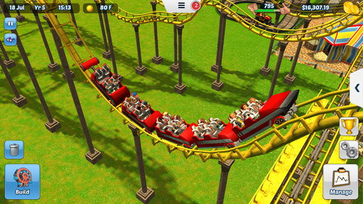RollerCoaster Tycoon 3 for iOS iPhone screenshot 003