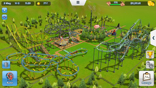 RollerCoaster Tycoon 3 for iOS iPhone screenshot 004