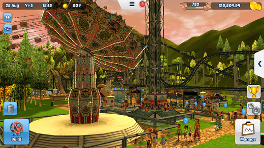 RollerCoaster Tycoon 3 for iOS iPhone screenshot 005