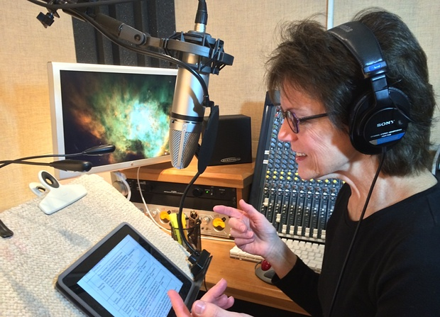 Susan Bennett Siri recording session