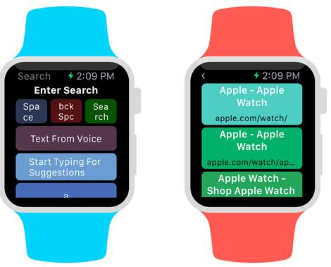 Captura de pantalla 001 de WatchWeb 1.0 para iOS Apple Watch