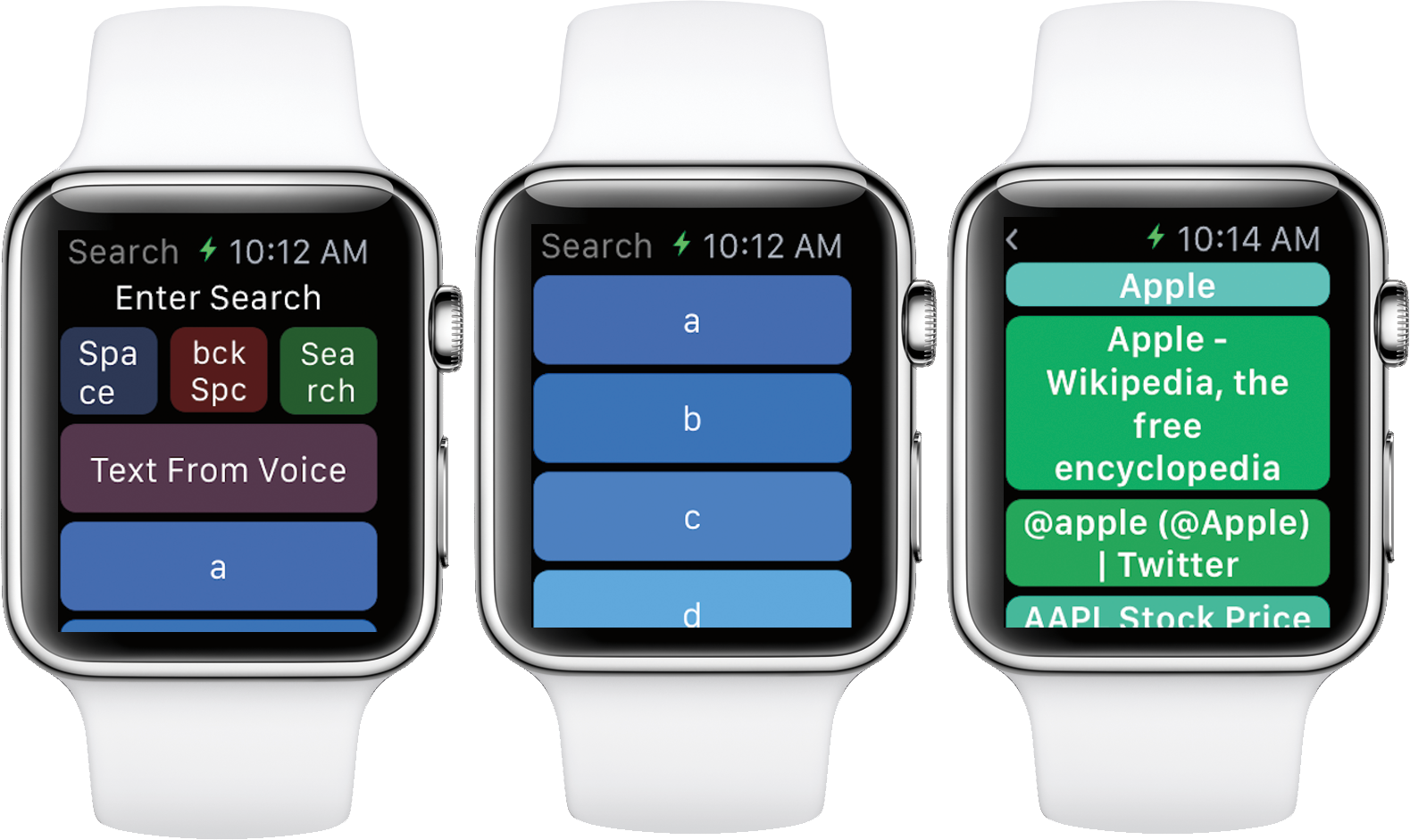 WatchWeb 1.0 for iOS Apple Watch screenshot 002