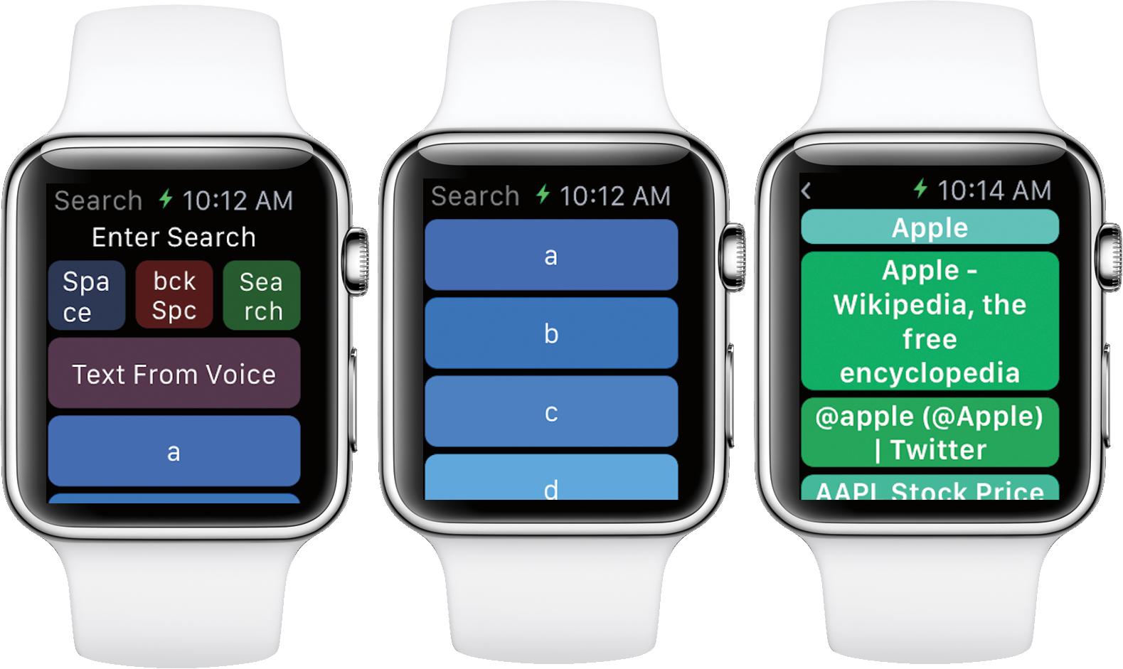 WatchWeb 1.0 para iOS Apple Watch captura de pantalla 002