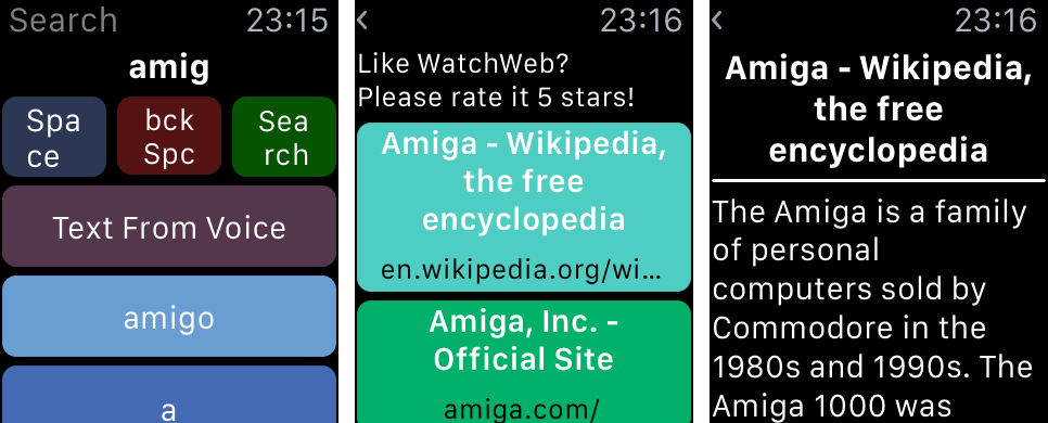 WatchWeb 1.0 for iOS iPhone screenshot 004
