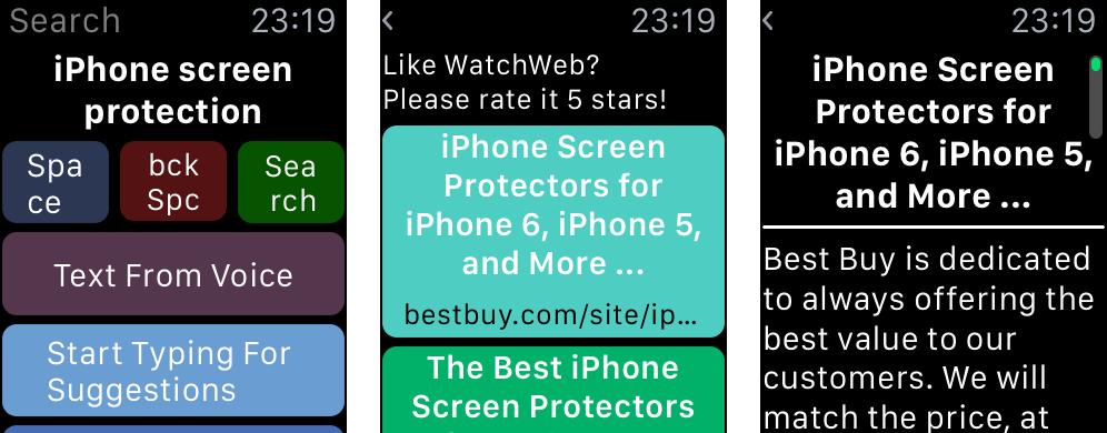 WatchWeb 1.0 for iOS iPhone screenshot 006