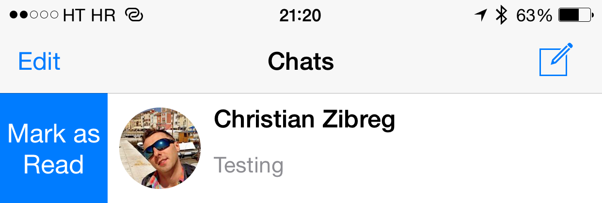WhatsApp 2.12.5 for iOS iPhone screenshot 001