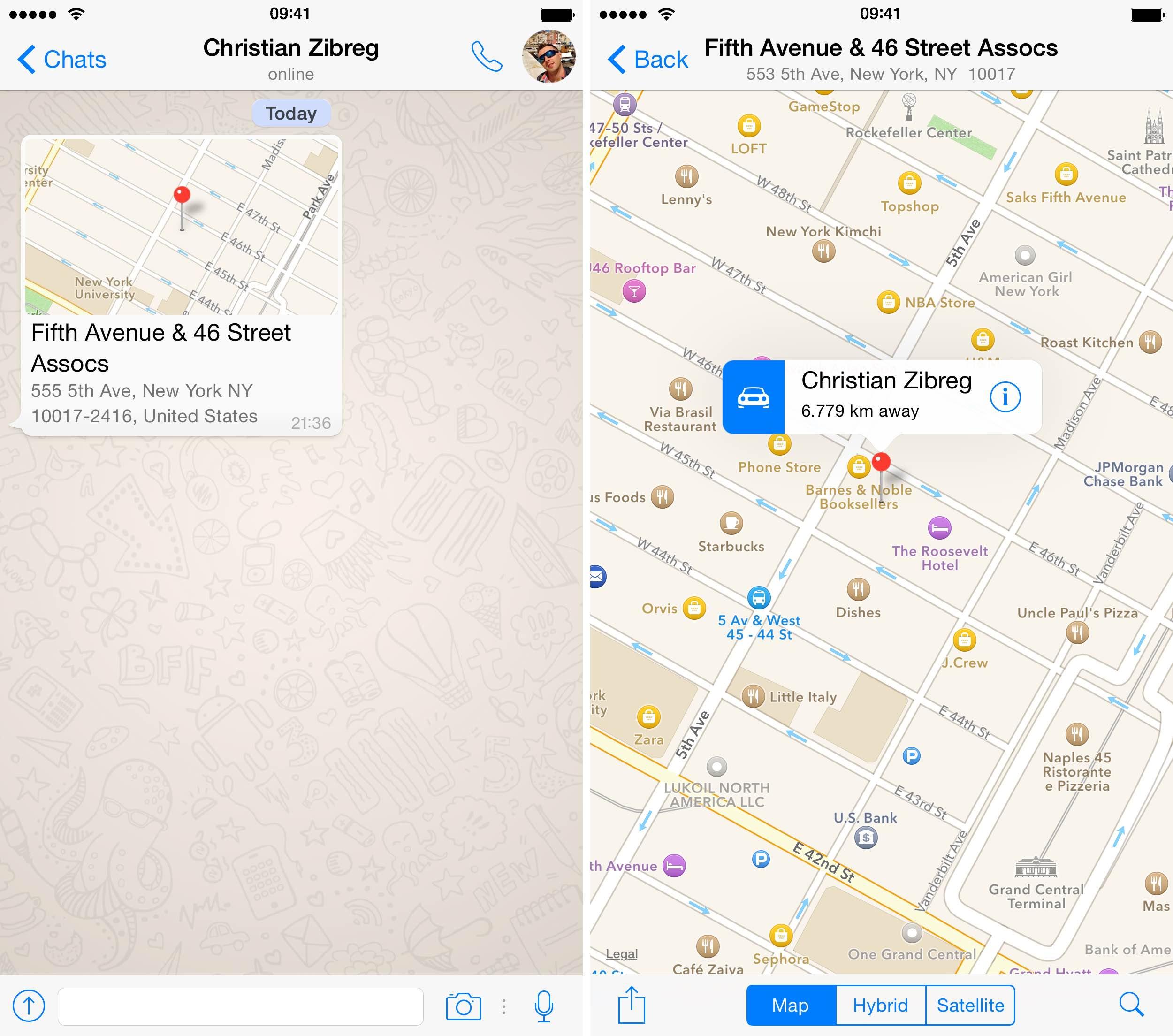 Captura de pantalla 005 de WhatsApp 2.12.5 para iOS iPhone