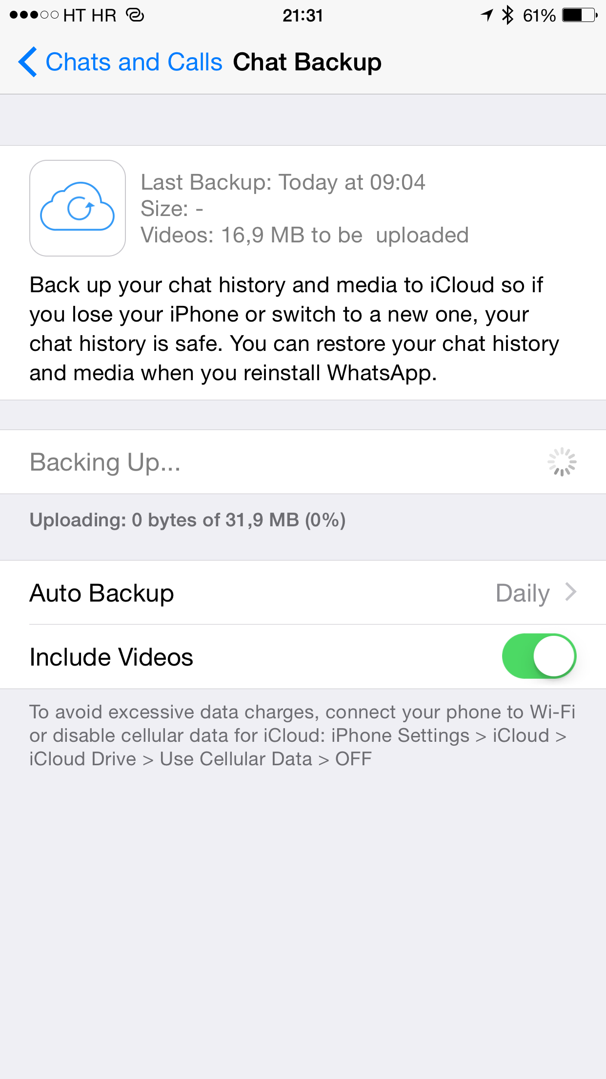 WhatsApp 2.12.5 for iOS iPhone screenshot 010