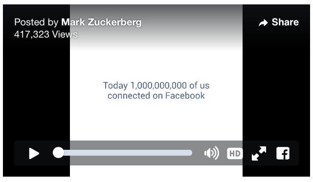 facebook 1 mil millones