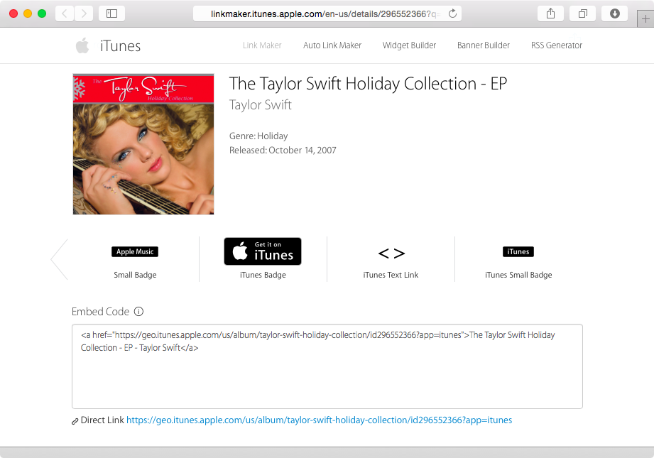 iTunes Store links to Apple Music screenshot 004