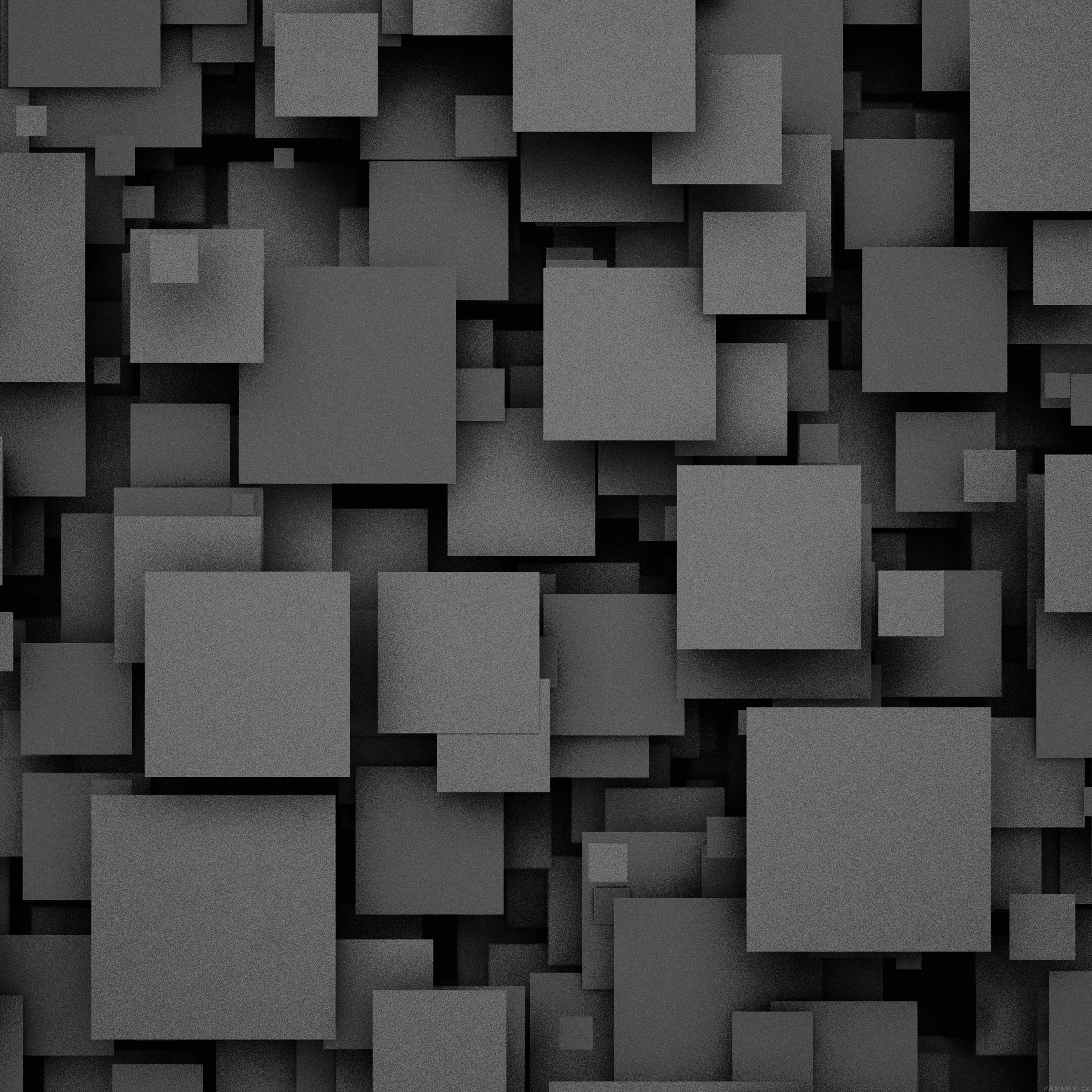 square-party-dark-bw-pattern-9-wallpaper