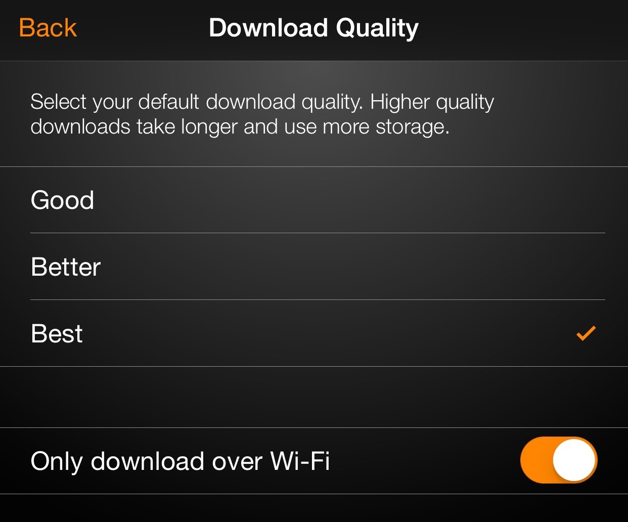 Amazon Video Quality Downloads