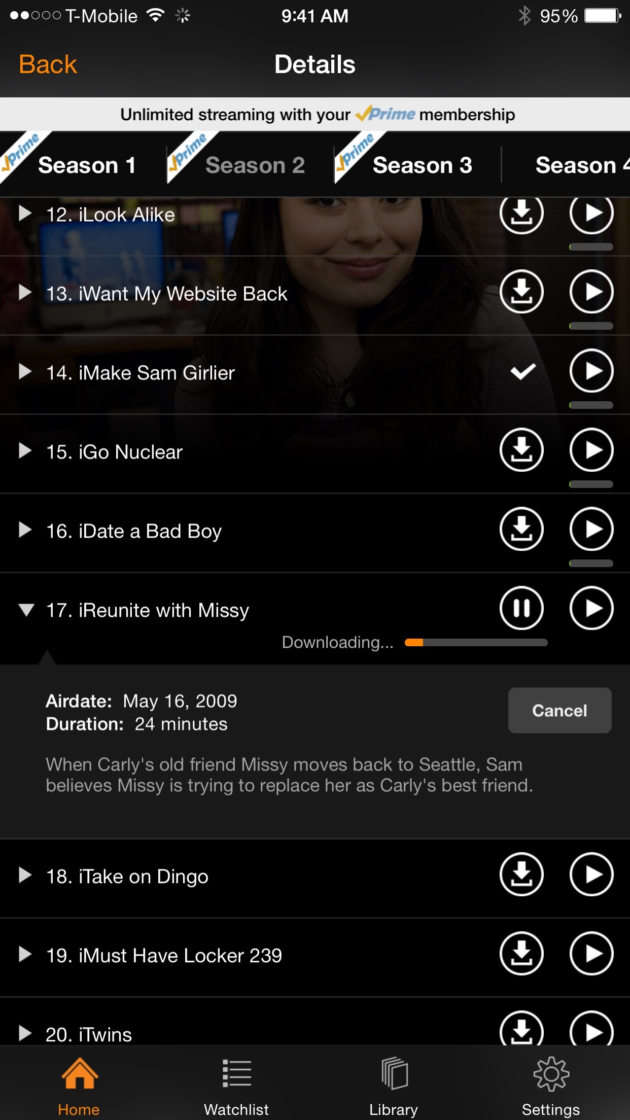 Amazon Video iCarly Download Offline