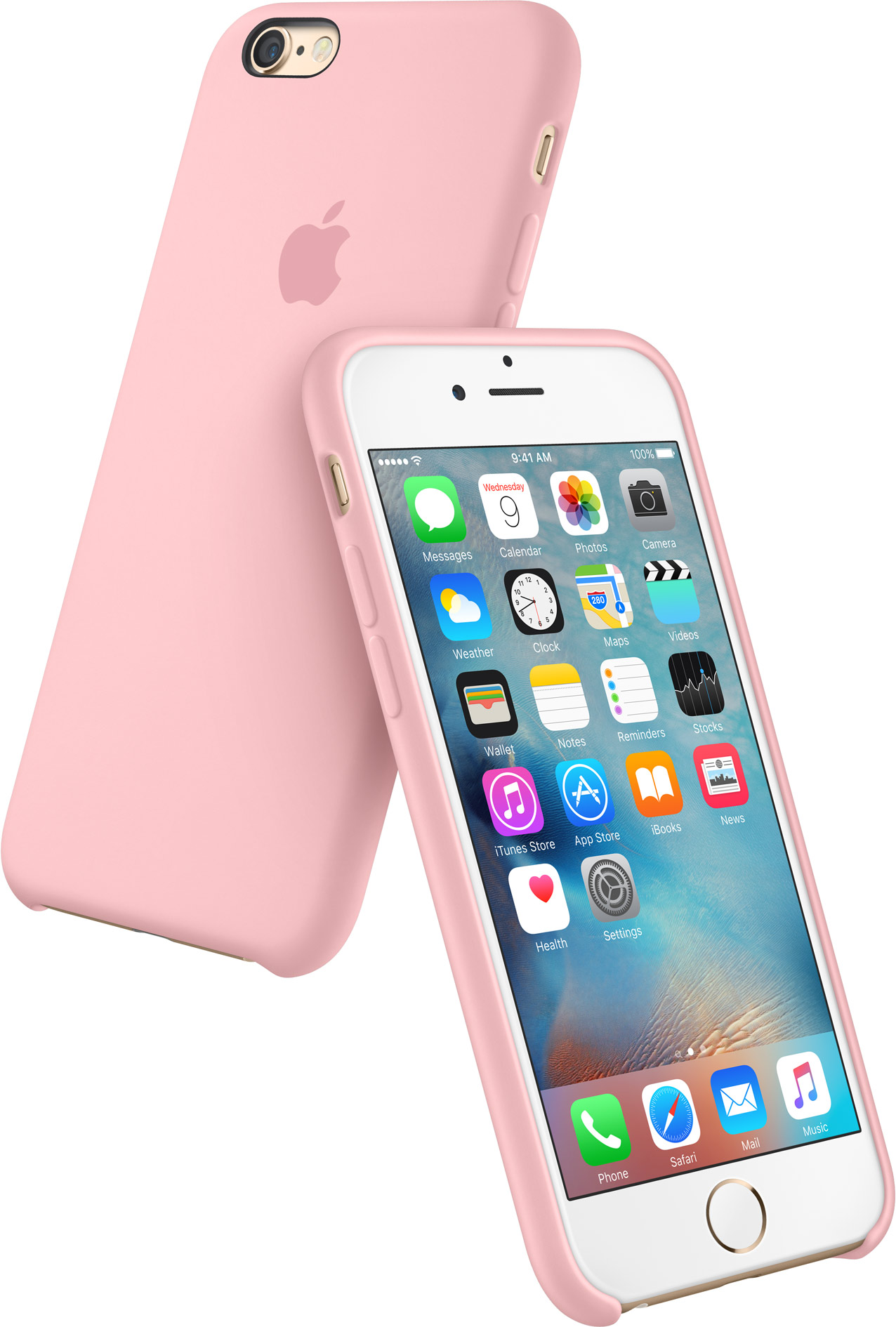 Apple Silicon Case Pink iPhone 6s image 001