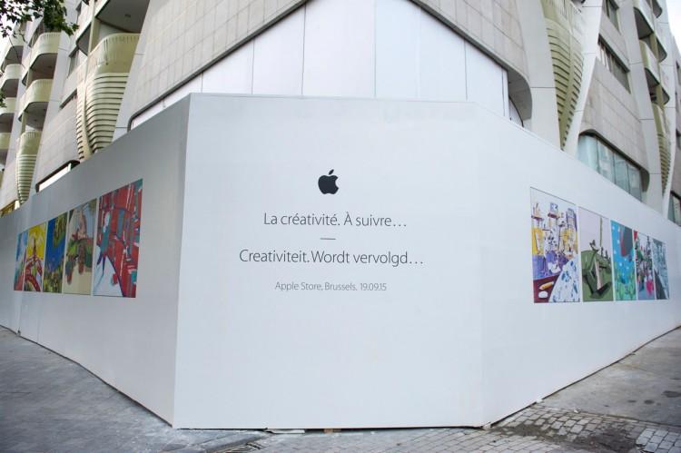 Apple Store Brussels Belgium