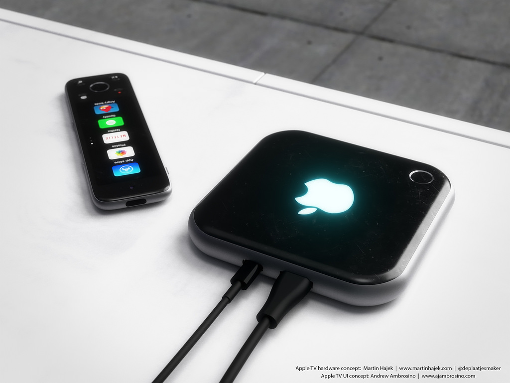 Apple TV fourth generation concept Martin Hajek 001