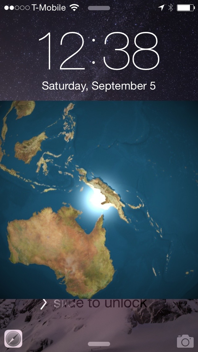 EarthLockScreen 3