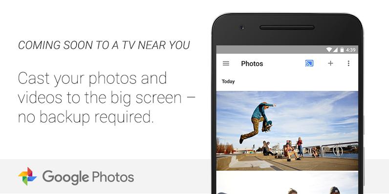 Google Photos Chromecast teaser 001